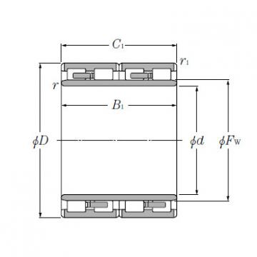 Cylindrical Roller Bearings--4R4054
